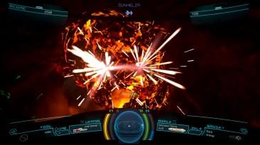 Геймплей космического шутера Descent