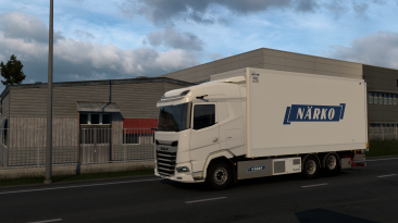 """Euro Truck Simulator 2 """"Тандем аддон для DAF 2021 v1.0.1 (1.40.x)"""""""