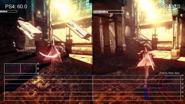 "DmC: Devil May Cry""Сравнение частоты кадров для PS4 vs PS3 (Digital Foundry)"""