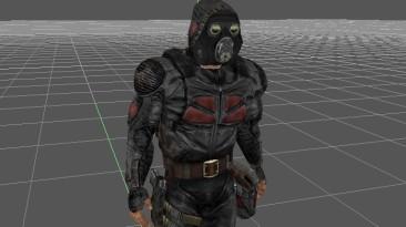 """S.T.A.L.K.E.R.: Shadow of Chernobyl """"Модели персонажей группировки Долг, Свобода , Нейтралы в противогазе ПБФ . GSC style"""""""