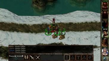 Игровой процесс Baldur's Gate 1, 2 и Icewind Dale Enhanced Edition на PS4