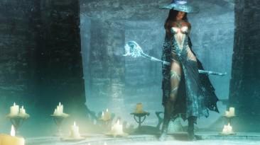 """Skyrim SE """"Одеяние Ледяной Ведьмы Кассандры"""""""