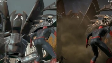 The Amazing Spider-Man : графическое сравнение PS Vita и PS3 версий