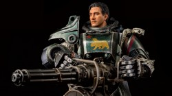 Фигурка Cиловой брони T-45 из Fallout 4