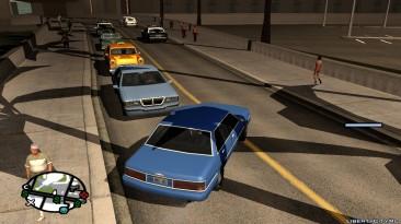 "Grand Theft Auto: San Andreas ""Тени для, без потери FPS"""