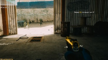 "Call of Duty: Modern Warfare 3 ""Walther P99 QPQ Gold Slide"""