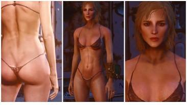 """Fallout 4 """"Улучшенная текстуры тела и лица"""""""
