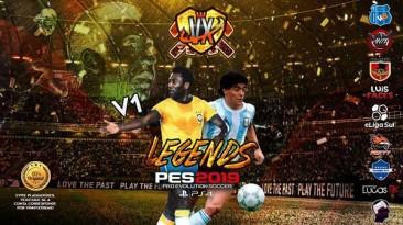 "PES 2019 ""PS4 Legends Option File Vinny Xtreme"""