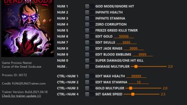 Curse of the Dead Gods: Трейнер/Trainer (+15) [1.0 - 1.24] {FLiNG}