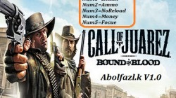 Call of Juarez: Bound in Blood: Трейнер/Trainer (+5) [1.0] {Abolfazl.k}