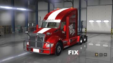 "American Truck Simulator ""Фикс для грузовика Kenworth T680 от Big Bob версия 1.0 (v1.31.x)"""
