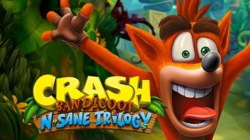 В Steam cтартовала распродажа Crash Bandicoot N. Sane Trilogy