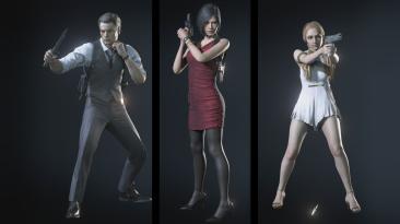 "Resident Evil 3 ""Персонажи из ремейка RE2"""