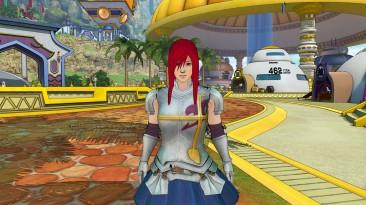 "Elder Scrolls 5: Skyrim ""Mod Fairytail Erza Scarlet"""