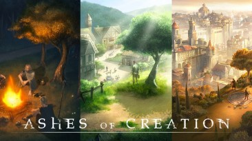 Разработчики Ashes of Creation выложили видео с альфа-теста