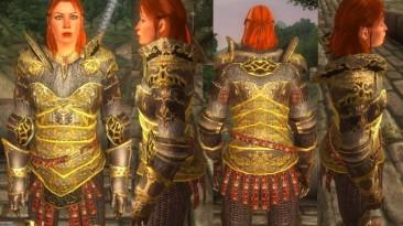 "TES 4 Oblivion ""Женский вариант Imperial Dragon Cuirass"""