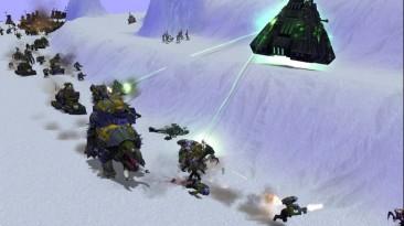 "Warhammer 40,000: Dawn Of War - Dark Crusade ""Карта - Arctic Swirl 1.0"""