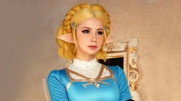 Косплей Зельды из The Legend of Zelda
