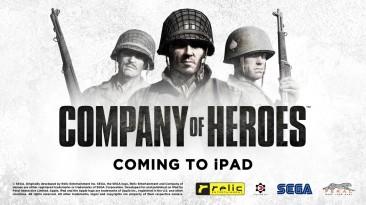 Стратегия про Вторую мировую Company of Heroes появится на iPad этой осенью