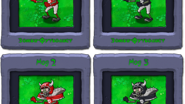 "Plants vs. Zombies ""Гига-футбольный зомби"""