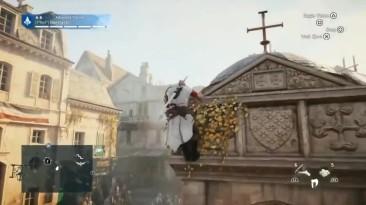 Баги превратили Assassin's Creed Unity в хоррор.