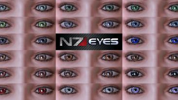 "Mass Effect Legendary Edition ""Реалистичные глаза Ultra HD"""