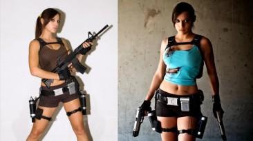 Косплей в стиле Lara Croft