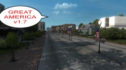 "American Truck Simulator ""Карта Большая Америка v1.7 (1.39.х)"""