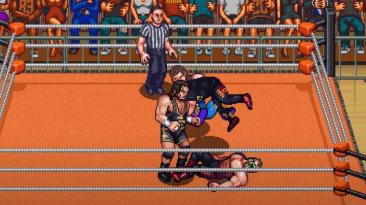 RetroMania Wrestling получила геймплейный трейлер