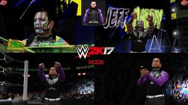 "WWE 2K17 ""Jeff Hardy 2 Attire (Face Animation) MOD"""