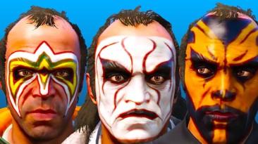 "GTA 5 ""WWE Face-Paint Pack 3.0"""