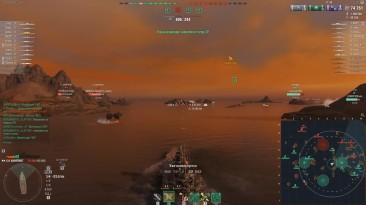Казус с новым режимом #полундра World of Warships