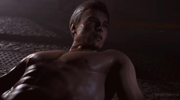 Resident Evil 2 - Секси Леон пристает к Аде Вонг