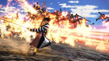 Первые скриншоты Кин'эмона, нового персонажа из будущего DLC для One Piece: Pirate Warriors 4