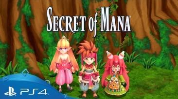 Почему Square Enix решила сделать обновленную версию игры Secret of Mana для PS4?