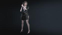 """Resident Evil 3 """"Черный костюм детектива"""""""