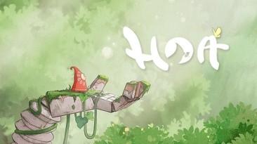 Новый трейлер и точная дата выхода Hoa: красочный и умиротворяющий платформер