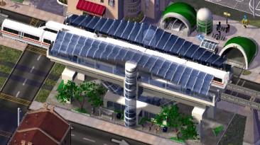"""SimCity 4 """"Новая станция монорельса"""""""