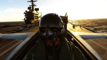 Расширение Top Gun для Microsoft Flight Simulator отложено до выхода фильма Top Gun: Maverick в мае 2022 года