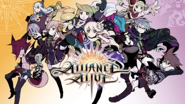 45 минут геймплея Alliance Alive HD Remastered
