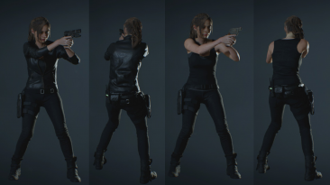 "Resident Evil 2 ""Клэр Редфилд Blackout Edition"""