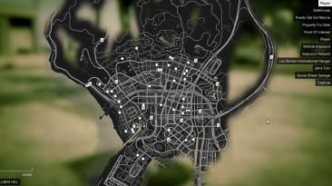 """Grand Theft Auto 5 """"Дома, отели, точки сохранения"""""""