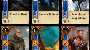"Witcher 3: Wild Hunt ""Gwent Plus Plus"""