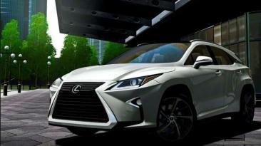"""City Car Driving """"2017 Lexus RX350 v1.5.9 - 1.5.9.2"""""""