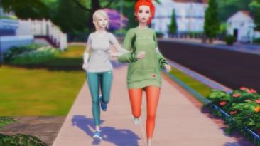"""The Sims 4 """"Совместные прогулки и пробежки"""""""