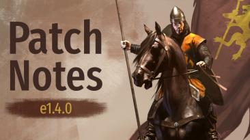 Вышло новое обновление 1.4.0 к Mount & Blade 2: Bannerlord