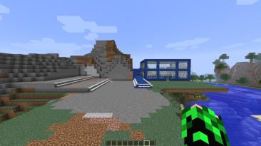 """Minecraft """"Карта с домом и гаражом"""""""