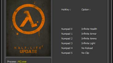 Half-Life 2: Трейнер/Trainer (+6) [1.1: 2257546] {Enjoy}