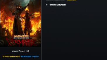 Warhammer: End Times — Vermintide: Трейнер/Trainer (+1: Бессмертие / Immortality) [1.2] {LinGon}