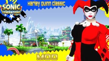 "Sonic Generations ""Harley Quinn (Classic) Mod"""